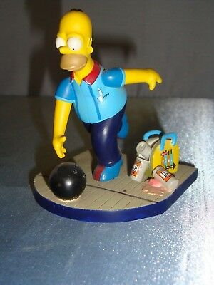 The Simpsons SPARE ME Hamilton Figurine MISADVENTRES OF HOMER Collection Bowling