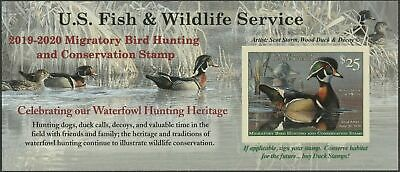 NEW RW86A 2019 Federal Duck Stamp VFOGNH Self Adhesive Fresh as Issued -Offer?