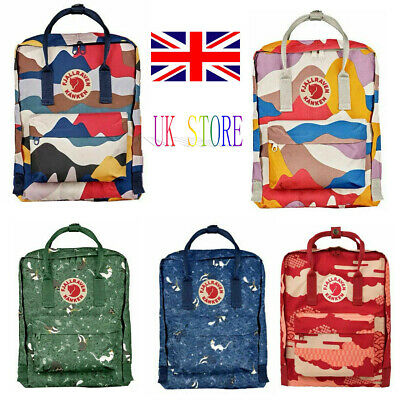 Fjallraven Kanken Fashion Printed School Backpacks Bags Casual Sport Travel Bags
