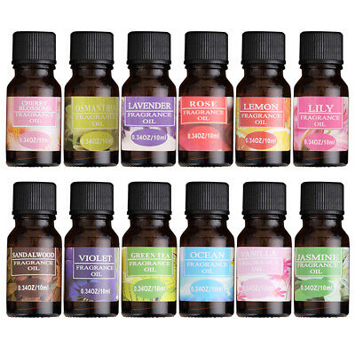 100% Pure Natural Essential Oil Aromatherapy Fragrance Diffuser Essential Oils