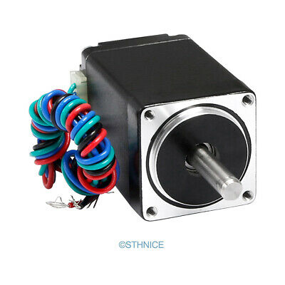 ENGMATE EMA112-4506S4 Nema 11 CNC Router Stepper Motor 4 Wire Single Shaft