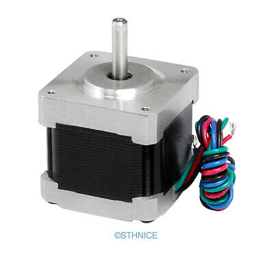 ENGMATE Nema 16 Stepper Motor 40Oz-In 2-Phase 0.5A For CNC Mill Router Cutter