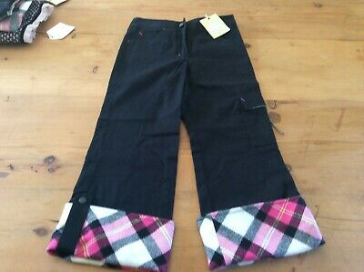BLUE MOON by CHARLES DAVID GIRL'S Age 6 PULL ON TARTAN PANTS  NEW