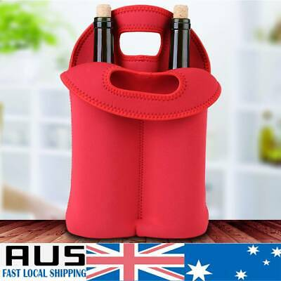 1x Neoprene Bottle Cooler Winebottle Bag Protective Cover Beverage Sleeve Holder