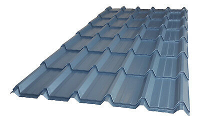 Tile Effect Roof Sheets Steel Metal Corrugated Matt