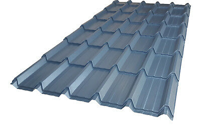 Tile Effect Roofing Sheets*NEW PRODUCT* Sheds,Stables,Buildings,**Slate Blue**