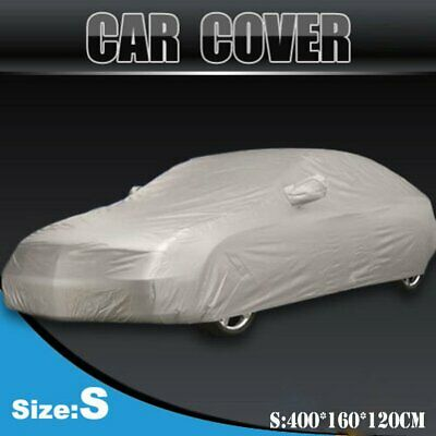 S  Size Full Car Cover Waterproof Sun UV Snow Dust Rain Resistant Protection 0J