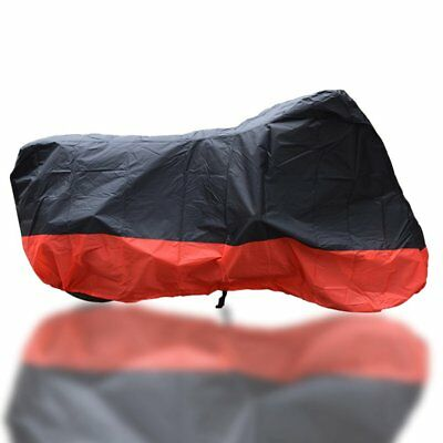 L Waterproof Outdoor Motorcycle Motor Bike Scooter Protector Dust Rain Cover DJ