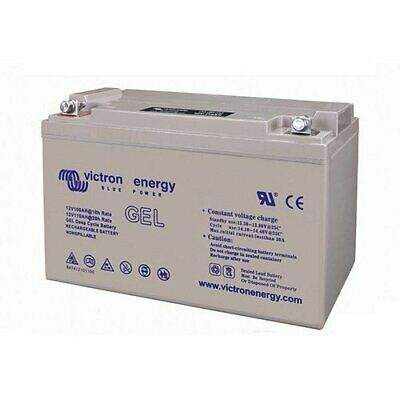 Set 2 x GEL Deep Cycle Battery 110Ah 12V Victron Energy Photovoltaic Camper