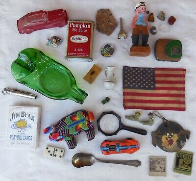 Junk Drawer Box Lot Mixed Assorted Vintage Stuff, Collectibles & Other Items