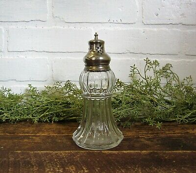 Vintage Lady Primrose Tryst Dusting Silk Powder Glass Shaker 3 oz Royal Extract