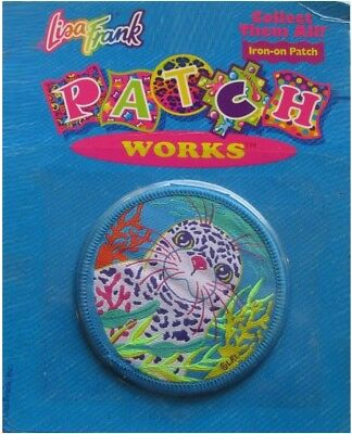 Vintage Original Lisa Frank Seal Rainbow Collectible Iron On Patch Free Shipping