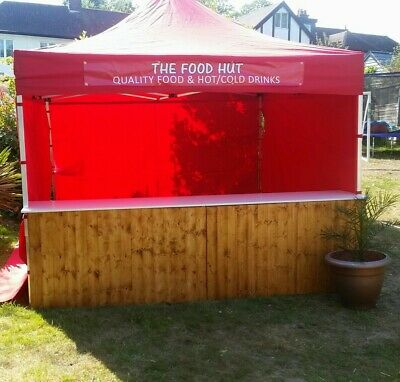 COMMERCIAL GRADE MARKET STALL POP UP TENT 3x3m  HEAVY DUTY