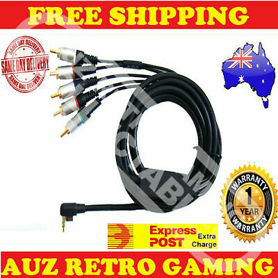Component HD TV RCA AV Cable Cord Lead For Sony PSP 2000 / 3000