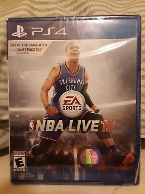 PS4 NBA LIVE 16 Basketball video game Brand New Factory Sealed SONY Playstation