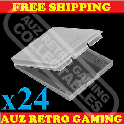 24x Clear Protective Game Cartridge Case Cover Nintendo GameBoy Color GBC GBP