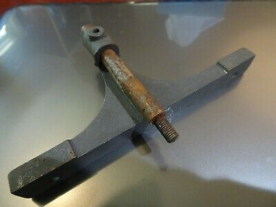 Antique  Fence And Rod For Stanley 289 Skewed Rabbit Plane           Parts