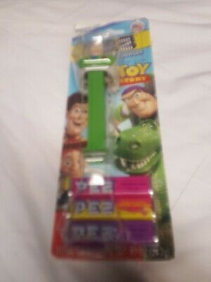 Toy Story's Buzz Lightyear Pez Dispenser – Sealed, with Candy - Rare
