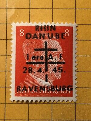 GERMANY (RAVENSBURG) 1945 POST WWII-LOCAL ISSUE 12 Rpf.  MNH