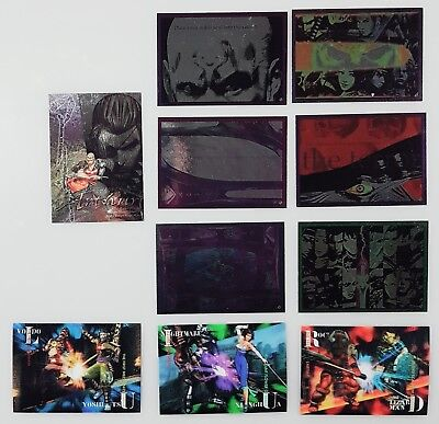 Namco Limited Trading Cards Soulcalibur Specialcards