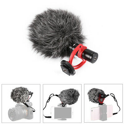 Condenser Microphone Universal Compact Video Mic Recording For DSLR Camera DC838