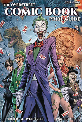 Overstreet Comic Book Price Guide Volume #49 Joker Softcover TPB Paperback New