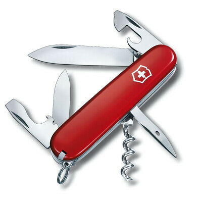 Victorinox Spartan Swiss Army Knife, 12 Functions - Red