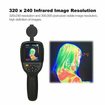 HT-19 Handheld Thermal Imaging Camera High IR Resolution Infrared Imager A