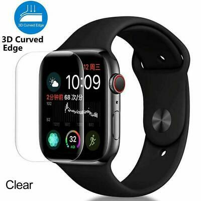 For iWatch Watch 38/40/42/44mm Tempered Glass Screen Protector Film Cover