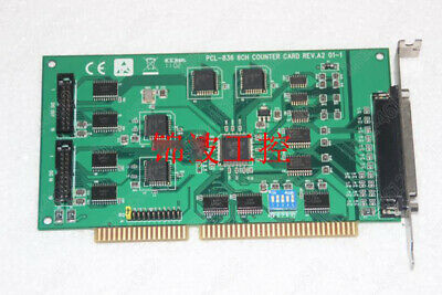 1pc used   Advantech PCL-836 6CH REV: A2/A1 ISA capture card