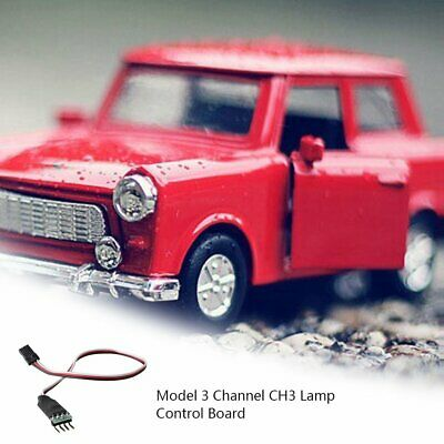 Two Channels Controlled Switch Remote Control Lights Receiver Cord for RC Car UJ
