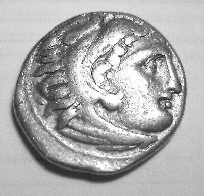 ALEXANDER III, THE GREAT. AR DRACHM. SARDES. Ref. 042.