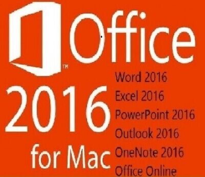 MS Office 2016 Home and Business for / für  MAC Standard  / Via EMail Versand