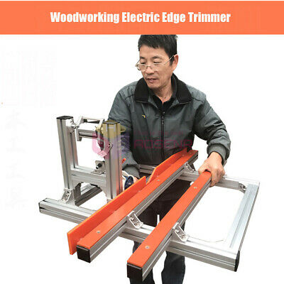 220V Woodworking Edge Trimming Machine Electric Edge Trimmer Beveling Chamfer