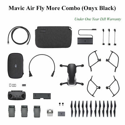 BRAND NEW SEALED DJI Mavic Air Fly More Combo Drone - Onyx Black - AUS STOCK!