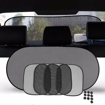 5Pcs Car Window Sun Shade Screen Visor UV Back Sunshade Protector Rear Blind CO