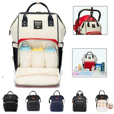Shoulder Bag Mummy Maternity Nappy Diaper Large Capacity Baby Travel Backpack