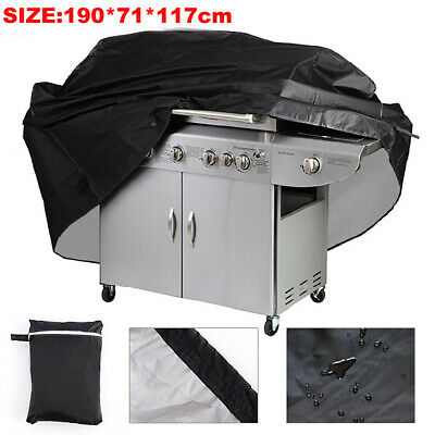 HD EXTRA LARGE BBQ COVER WATERPROOF GARDEN BARBECUE GRILL 6 Burner GAS PROTECTOR