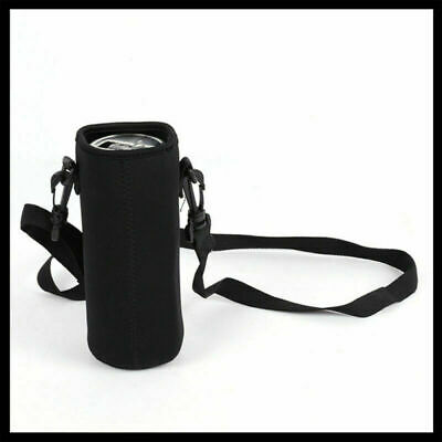 Outdoor Water Bottle Shoulder Insulated Cover Drink Pouch Bag Holder W/ Strap AU