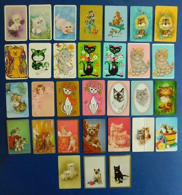 SC2 31x Vintage CAT 10x Plain Back 21x Playing Swap Cards