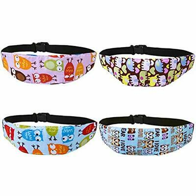 4 Strap & Belt Covers Pcs Toddler Car Seat Infants And Baby Head Support, Neck