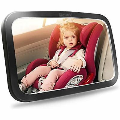 Baby Rear Facing Mirrors Car Mirror, Safety Seat For Infant With Wide Crystal