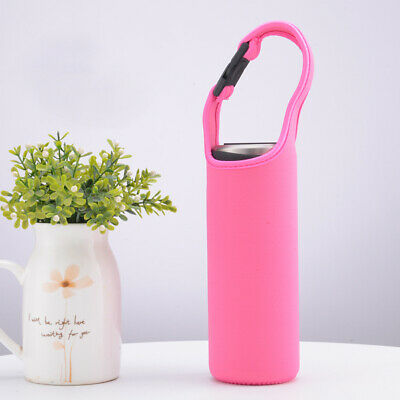 500ml Water Bottle Holder Neoprene Insulated Sleeve Bag Case Pouch  Eco-friendly