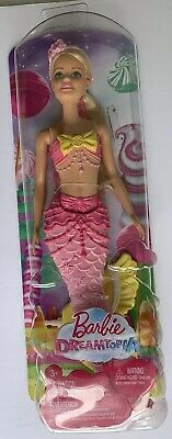 Mattel Barbie Dreamtopia Mermaid Collectable Toy Doll New In Box