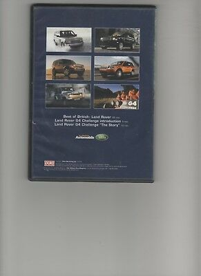 DVD BEST OF BRITISH : LAND ROVER Le Moniteur Automobile G4 Challenge FR NL ENG