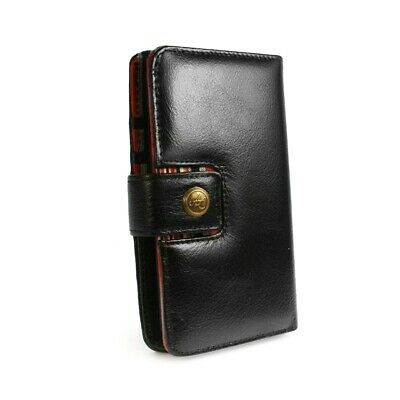 Alston Craig Personalised Leather Wallet Case for Samsung Galaxy S10 Plus - Blk
