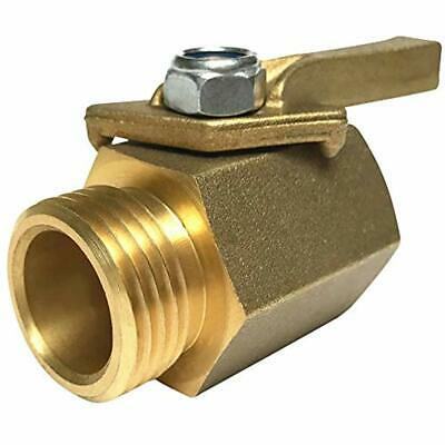 Super Parts & Connectors Heavy Duty Solid Brass Shut Off Ball Valve For Standard