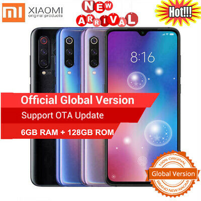 Global Teléfono 6,39'' Xiaomi Mi 9 128GB+6GB 4G Smartphone Snapdragon855 48MP ES