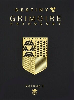 Destiny Grimoire Anthology Vol I by Bungie Inc Science Fiction Fantasy Video NEW