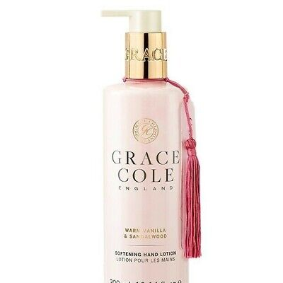 Grace Cole Ginger Vanilla Sandalwood Softening Hand and Nail Cream Lotion 500ml
